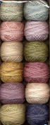 Valdani Size 8 Perle Cotton Embroidery Thread Carried Away Colours Collection 1