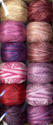 Valdani Size 8 Perle Cotton Embroidery Thread River Gallery Hollyhocks Collection