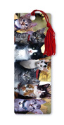 Dimension 9 3D Lenticular Bookmark with Tassel, Kittens Everywhere, Pet Breed Series