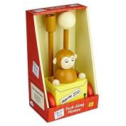 Dear Zoo....Childrens Monkey Push Along Toy