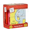 Dear Zoo....Children's Wooden Puzzle Blocks
