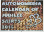 2016 Autonomedia Calendar of Jubilee Saints