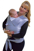Baby Wrap Best Baby Carrier, Sling ,Wrap, We love a Fashion Baby Great Baby Shower Gift Newborn to 16kg. Grey Free Instructional eBook 100% No Risk.
