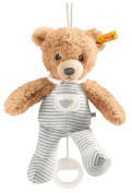 Steiff Sleep Well Bear Music Box, Grey, 20cm