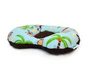 Lazy Lambert ErgoPillow - Monkeys and Bananas Flat Head Pillow