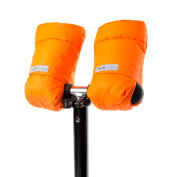 7AM Enfant Kids WarMMuffs, Neon Orange, Small