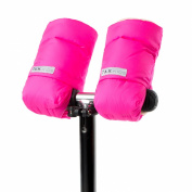 7AM Enfant Kids WarMMuffs, Neon Pink, Small