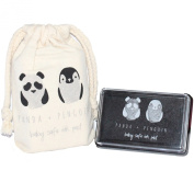 Ink Stamp Pad by Panda and Penguin is Baby Safe, Kid Friendly, Washable, and Non-Toxic. + Bonus eBook