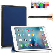 Infiland Apple iPad Pro Case Cover- Ultra Slim Lightweight Smart Shell Stand Cover for Apple iPad Pro(with Dual Auto Sleep/Wake Feature)