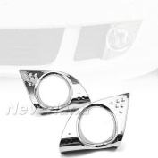 Aridox(TM) 2PCS ABS Chrome Front Fog Light Lamp Cover Bezel for Acura TSX 2009 2010 Car Accessories C20