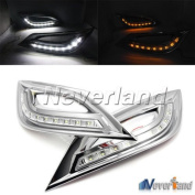 Aridox(TM) 2pcs Car Daytime Running Lights DRL Head Lamp Turn Signal White 9 LED lights For for for  for  for Hyundai   Sonata 2011-2013 C20