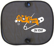 PUNK BABY ON TOUR Car Sun Shade for Children