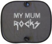 MY MUM SILVER ROCKS Car Sun Shade for Children
