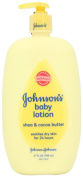 Johnson's Baby Lotion, Shea & Cocoa Butter, 800ml
