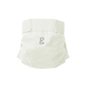 gNappies Medium White Gauze Soft Cotton gPants