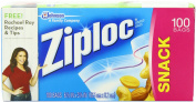 Ziploc Snack Bag Value Pack, 100-Count