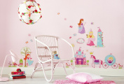 "d-c-fix® ""Wall & More"" Self Adhesive Wall Stickers Princess 48cm x 60cm 281-0007"
