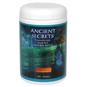 Pack of 2 x Ancient Secrets Aromatherapy Dead Sea Mineral Baths Unscented - 0.9kg