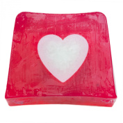 Watkins Soap Company | Handmade in England | Rose Large Heart