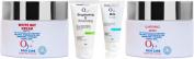 O3+ Facial Kit Whitening Mask, White Day Cream Spf 15, Brightening & Whitening, Milk Scrub (Combo Pack) With Ayur Soap
