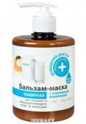55659 Balm-mask with bee milk Kefir 500ml Home Doctor