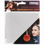 GREY BARBERS HAIR CUT/CUTTING HAIRDRESSING HAIRDRESSERS UNISEX SALON BARBER GOWN CAPE