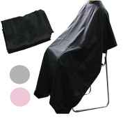 BLACK BARBERS HAIR CUT/CUTTING HAIRDRESSING HAIRDRESSERS UNISEX SALON BARBER GOWN CAPE