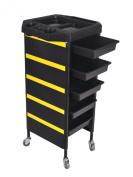 Hug Flight New Design 6TIER Drawer TROLLEY Shelf Storage Hair Beauty Hairdresser Salon Cart
