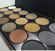 VALUE MAKERS 18 Colours Eyeshadow Eye Shadows Palette-Beauty Cosmetic Shimmer Eye Shadows-Glitter Smoky Eye Shadow Palette-Makeup Kit Set Make Up Professional Box