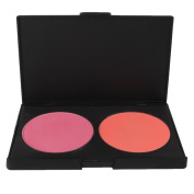 FantasyDay® Professional 2 Colours Powder Blush / Blusher Makeup Palette Contouring Kit - Ideal for Professional and Daily Use