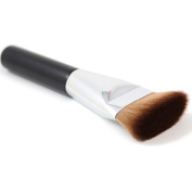 New Single Professional Flat Contour Foundation Blush Brush Face Makeup Big Powder Brushes Synthetic Hair Cosmetics Tools