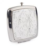 Square Compact Mirror (Silver)