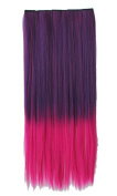 Amazing 60cm One Piece Clip in Hair Extensions Ombre