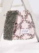 Damask Blush/Grey Tile Cuddle