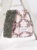Damask Blush/Grey Tile Cuddle