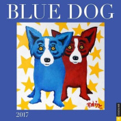 Blue Dog 2017 Wall Calendar