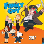 Family Guy 2017 Wall Calendar
