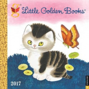 Little Golden Books 2017 Wall Calendar