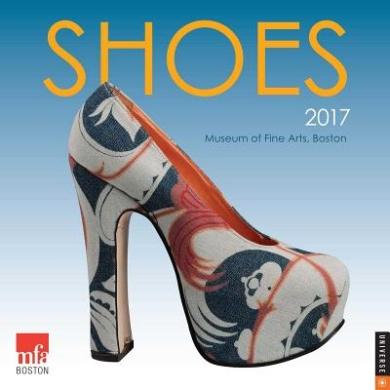 Shoes 2017 Wall Calendar