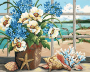 Dimensions Needlecrafts Paintworks Paint By Number, Seaside Still Life