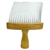 Professional Hairdressing/Barber Wooden Neck Brush - Soft Bristles