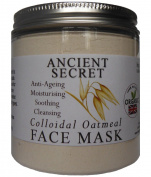 New Formula - Organic Colloidal Oatmeal - Kaolin / China Clay Organic Face Mask/Masque Anti Ageing, Psoriasis, Eczema, Acne Treatment