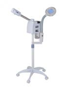 2in1 Desktop LED Magnifying Lamp + Facial Ozone Aroma Steamer Salon Spa Skincare