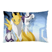 New Update Hot Sell Best Gift Choice Renamon Digimon Character Anime Japan 20x30 Standard Size Pillow Case