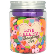 Seedling Love Hearts Beading Set