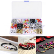 Surepromise Letter Alphabet Beads Charms Loom Bands Alphabet Beads For Loom Bands Bracelet