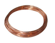 Modern Findings Copper Round Wire 18Ga 4m Coil