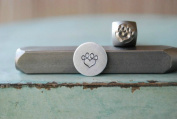 Brand New Supply Guy 6mm Paw Heart Metal Punch Design Stamp