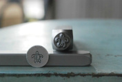 Brand New Supply Guy 7mm Sea Turtle Metal Punch Design Stamp