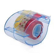Multi Roll Tape Dispenser,including 3 rolls washi masking tape, 1.5cm X 10 Yards each, 2.5cm Core , Refillable ,